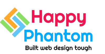 Happy Phantom- built web design tough